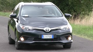 NEW TOYOTA AURIS TOURING SPORTS 1.6 D-4D DIESEL ACTIVE 111 CV 2016 - FIRST TEST DRIVE