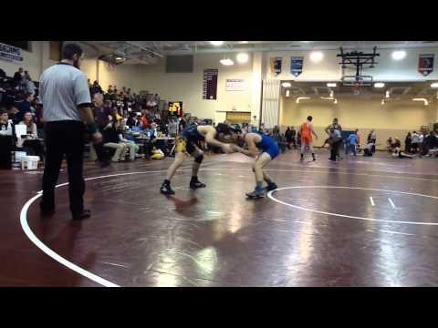 John Handley High School Individual Wrestling Tournament - Saturday, 18th January 2014 - Round #1