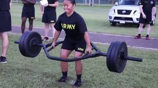 25th Infantry Division, conduct the new Army Combat Fitness Test (AFCT)