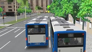 OMSI 2 - Mallorca Articulated Bus to Palma Port Gameplay 4K