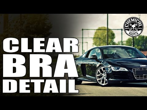 How To Clean And Maintain Supercar Clear Bra - Chemical Guys - Hybrid V7