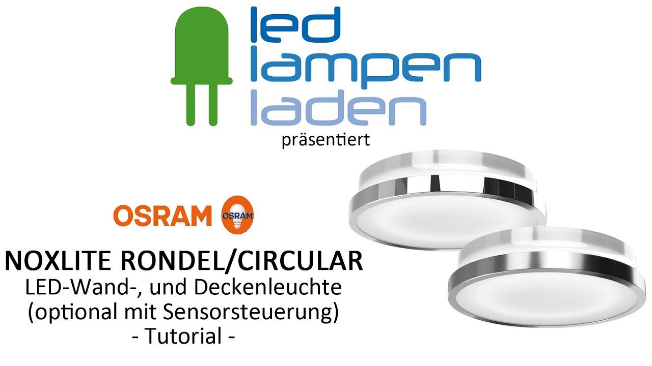 OSRAM LED Lampen | OSRAM LED RONDEL / CIRCULAR | Ihr LED ...