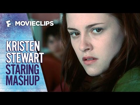 The Many Stares of Kristen Stewart Mashup (2015) HD