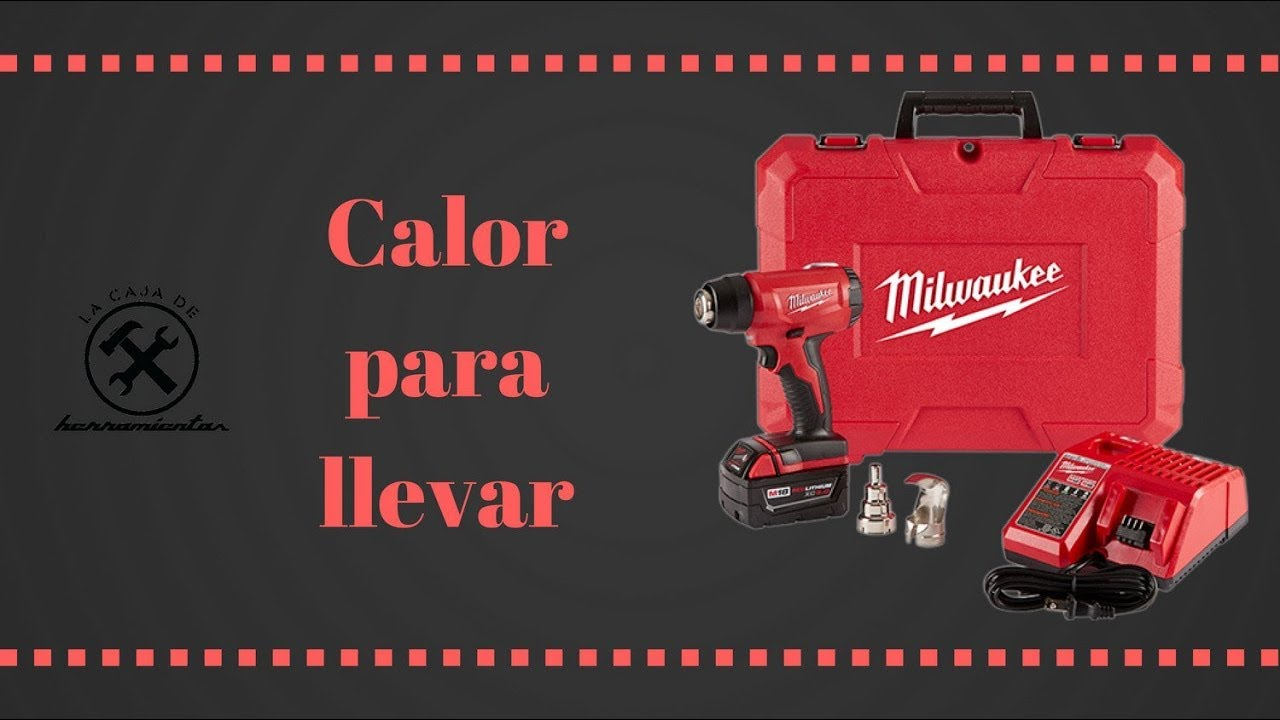 Pistola de calor milwaukee 2688 20 youtube - Pistolas de calor ...