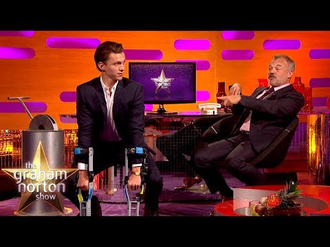 Tom Holland Does an AMAZING Chimp Impression!   The Graham Norton Show