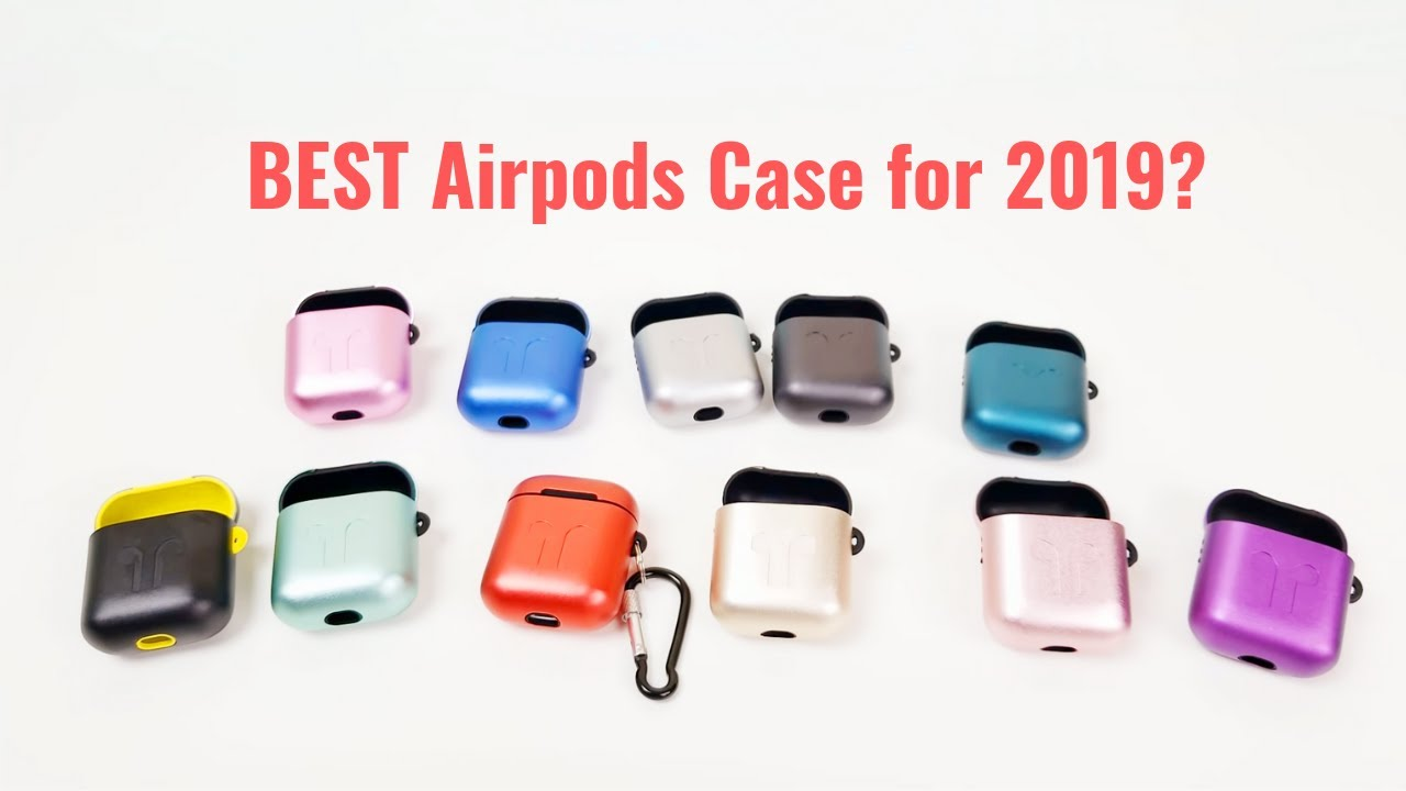 finest selection 57be6 7ebad Best Apple Airpod Case for 2019? Watch for GIVEAWAY info!!