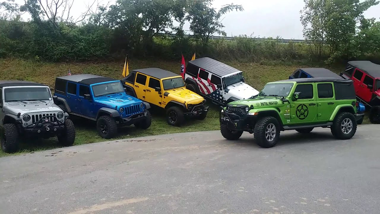 2019 Smoky Mtn Jeep Invasion Scenes Youtube