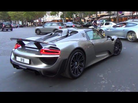 Liquid Metal Porsche 918 Spyder Youtube