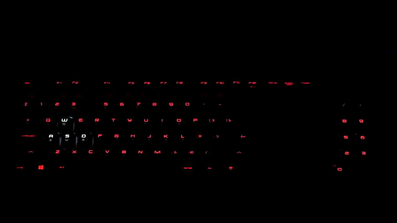OMEN by HP Keyboard 1100 - light effects in different modes