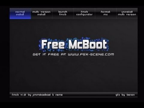 How to   install free mc boot on most slim ps2 youtube.