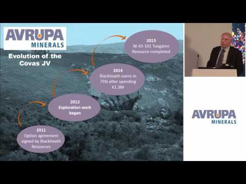 Avrupa Minerals CEO Paul Kuhn Presents to investors at Mining Capital Conference
