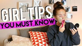 10 Tips Every Girl MUST KNOW!  | Kenzie Elizabeth