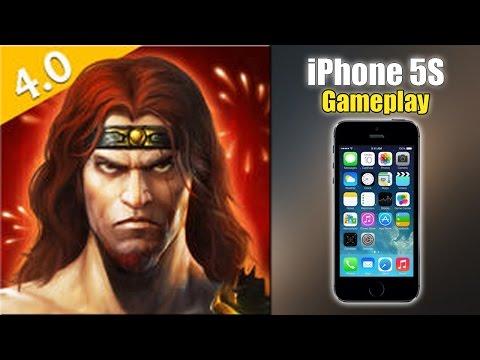 Eternity Warriors 3 - IPhone 5S Gameplay
