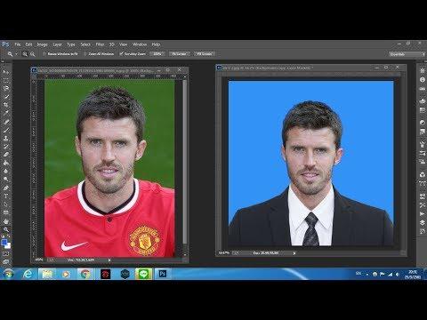 Photoshop ตัดต่อรูปภาพ ติดบัตร สมัครงาน 1 นิ้ว 2 นิ้ว ทำเองง่ายนิดเดียว