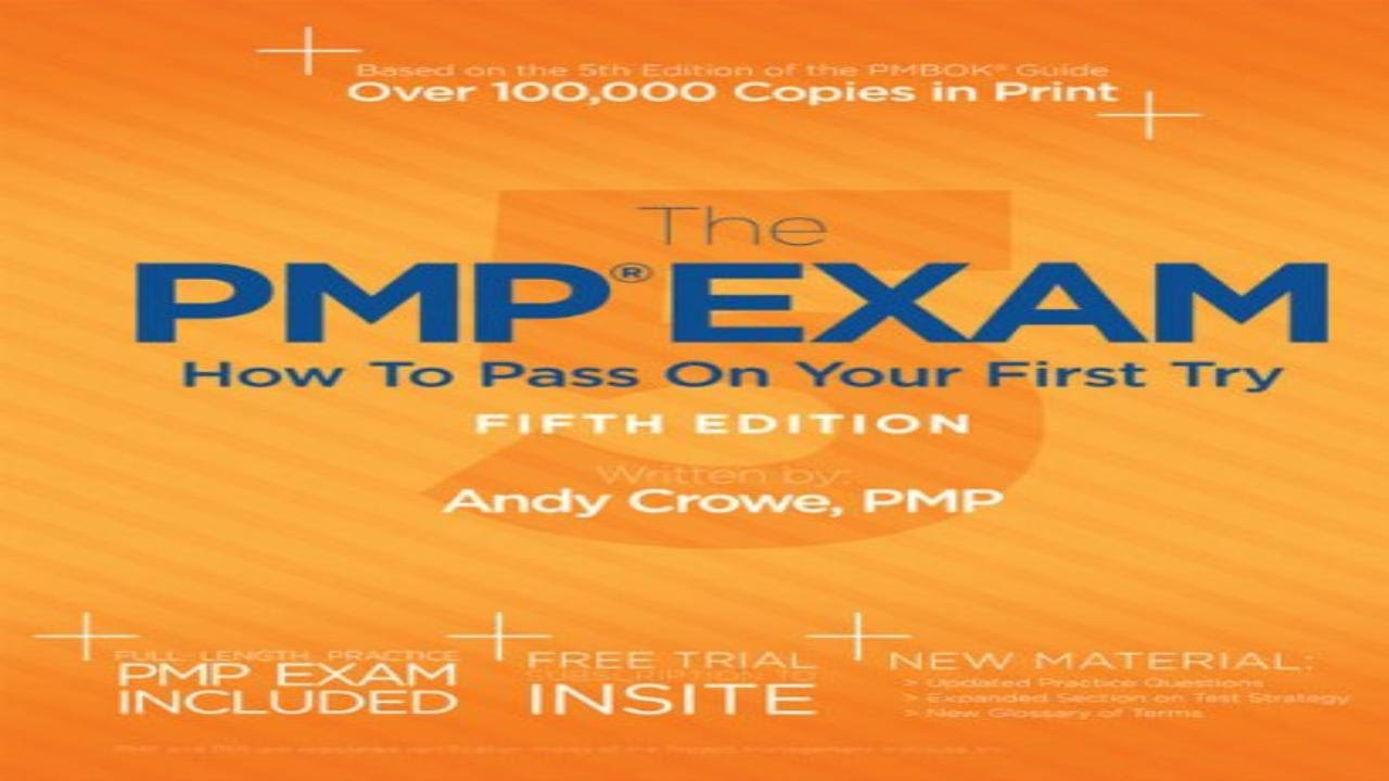 The pmp exam how to pass on your first try fifth edition youtube the pmp exam how to pass on your first try fifth edition xflitez Gallery