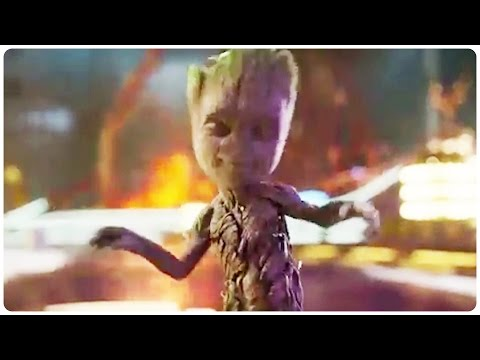 Thumbnail: Guardians of the Galaxy 2 Dancing Baby Groot Trailer (2017) Chris Pratt Action Movie HD