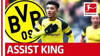 Jadon Sancho - The Bundesliga's Assist King