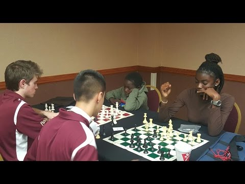 Bahamas PAWNSTORMERS Chess Team Explores N.C. @ First International Competition