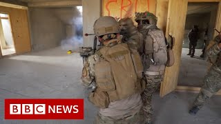 How Afghanistan police train for Taliban attacks and suicide bombers - BBC News