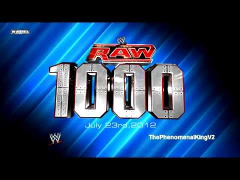 WWE RAW 1,000th Episode Theme Song -