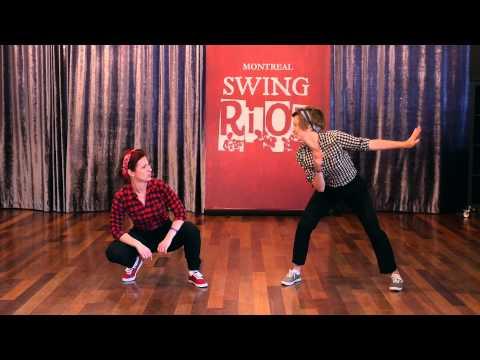 Montreal Swing Riot 2014  Short case  Krystal Moss & Julie Kiraly
