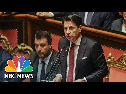 Italian Prime Minister Conte Announces Resignation Ahead Of No-Confidence Vote | NBC News