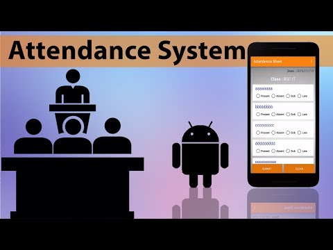 Android Attendance System - YouTube