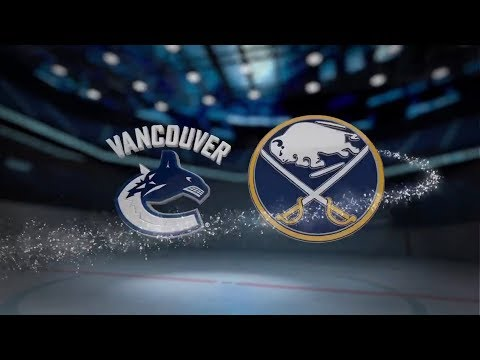 Vancouver Canucks vs Buffalo Sabres - October 20, 2017 | Game Highlights | NHL 2017/18 Обзор