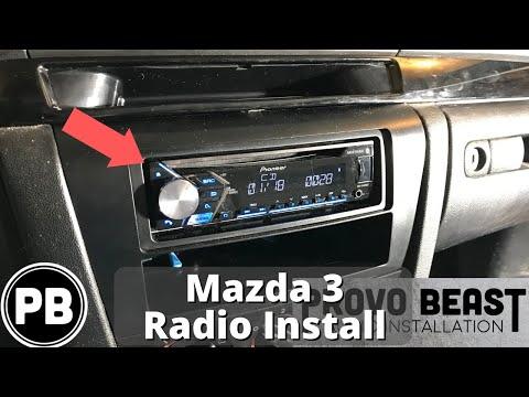 2004 - 2009 Mazda 3 Bluetooth Radio Install | DEH-S410BT
