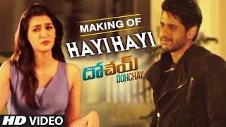 making-of-hayi-hayi-dohchay-naga-chaitanya-kritisanon