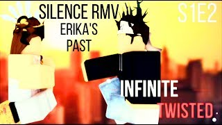 Silence☆Marshmello & Khalid☆Roblox Music Video|| Behind The Twisted|| Erika's Past||