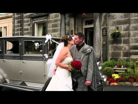 Garvock House Hotel wedding - Susan & Jordan