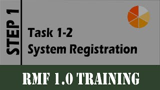 RMF Lab task 1-3 (Information System Registration)