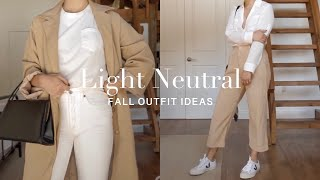 How To Wear White and Light Neutrals During The Fall | Gemary