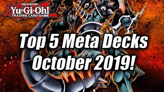 Yu-Gi-Oh! Top 5 Meta Decks for the October 2019 Format! Ft.Jesse Kotton! (New October 2019 Banlist)