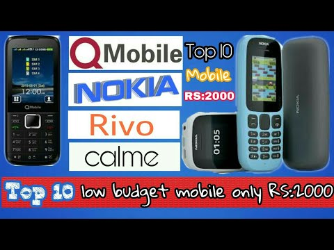 b4a5750686e Top 10 low budget mobile only Rs 2000