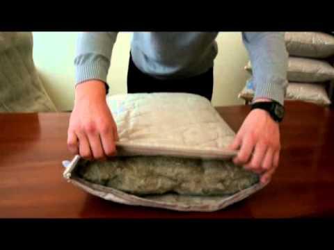 Льняная подушка от ТМ
