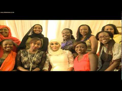 Citizen TV anchor Hussein Mohamed weds in a colourful ceremony