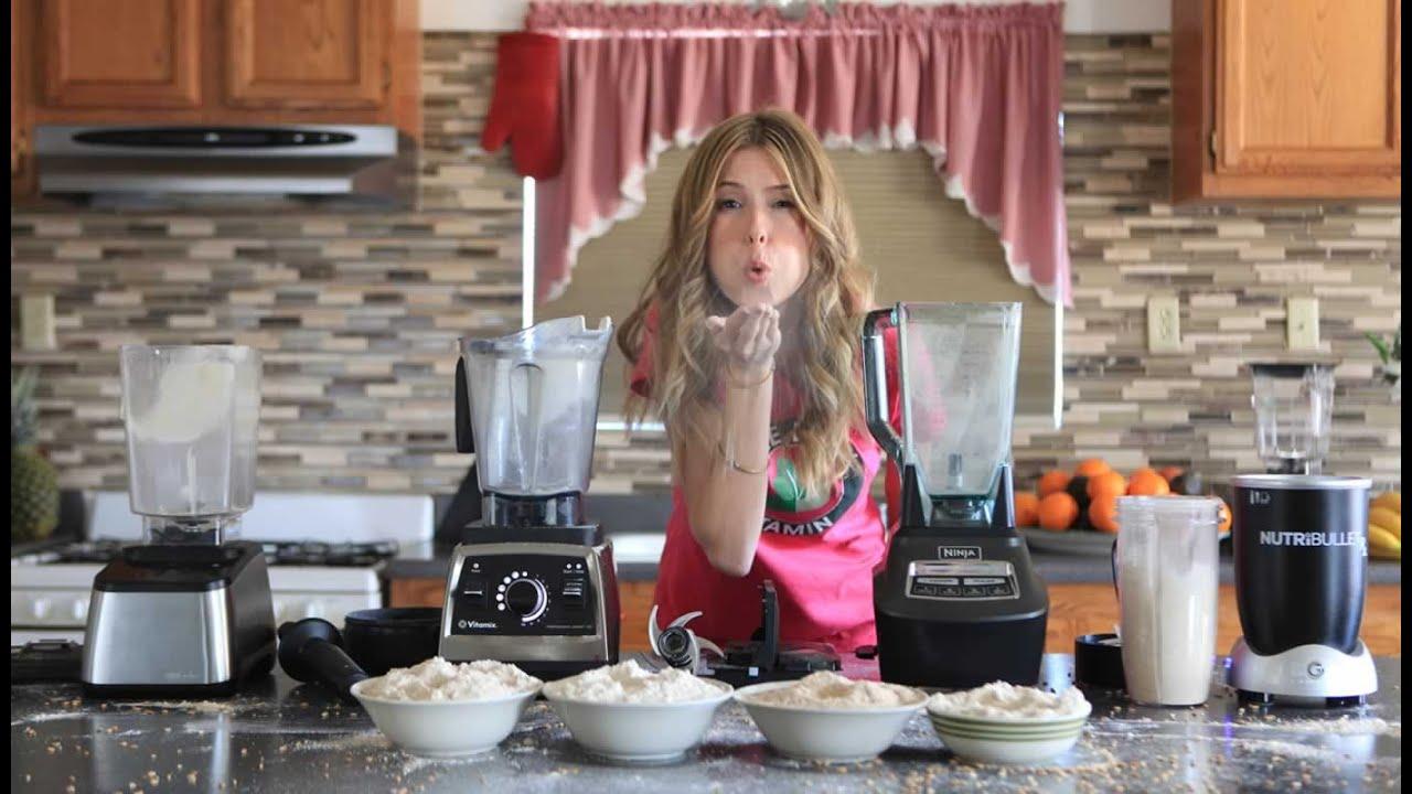 Blendtec Kitchen Mill Best Camp How To Make Flour Grain Grinding Blend Off Vs Vitamix Nutribullet Ninja
