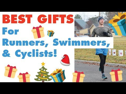 The 8 BEST GIFTS for runners, cyclists, swimmers, and triathletes!