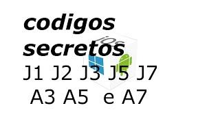 codigos secretos j1 j2 j3 j5 j7 a3 a5 a7 2015 2016