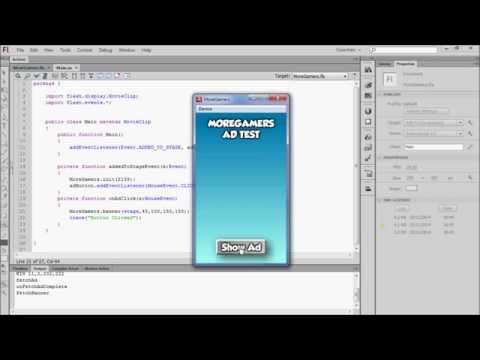 Adobe Air SDK Tutorial for MoreGamers.com