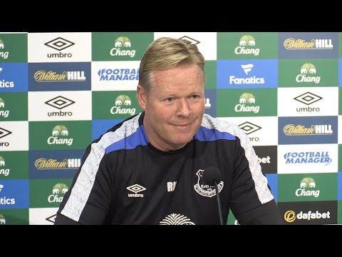 Ronald Koeman Full Pre-Match Press Conference - Manchester City v Everton