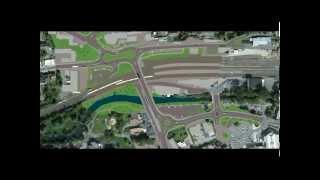 Simulation: Geplante neue Hochbrucke in Gerolstein