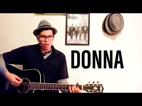 DONNA- RITCHIE VALENS COVER (LYRICS AND CHORDS)