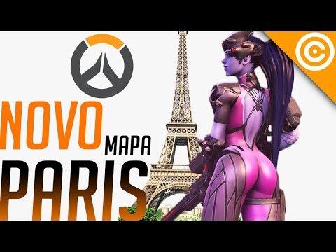 Overwatch - Testando NOVO mapa PARIS! - Gostei ou não? thumbnail