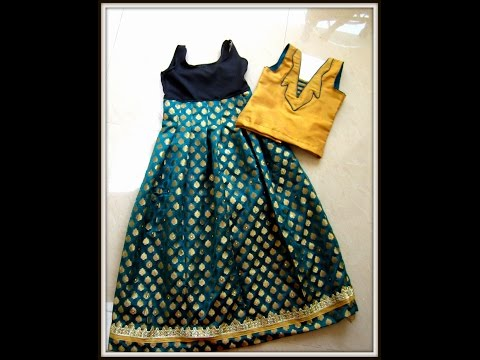 how to cut a saree blouse using tailoring method