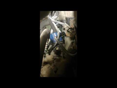 Замена датчика давления масла К9К 1.5Dci Рено Лагуна 3