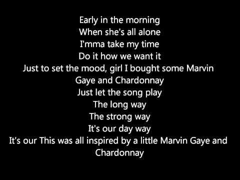 Marvin Gaye & Chardonnay Big Sean ft. roscoe dash and kayne [LYRICS]