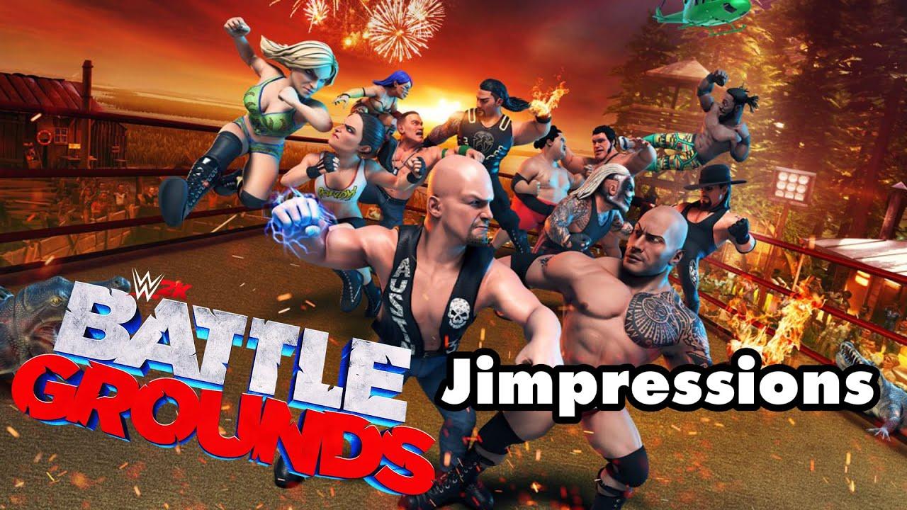 WWE 2K Battlegrounds - A Trash Game For A Trash Brand (Jimpressions)